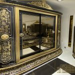 Large Luxury Teak Wood Wardrobe