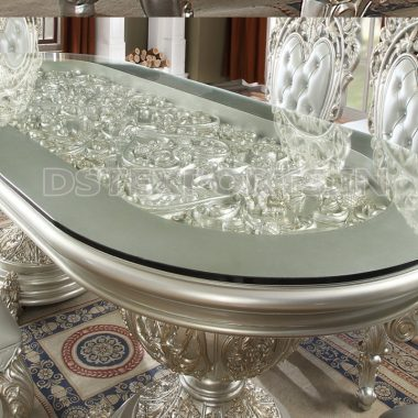 Heavy Carved Dining Table