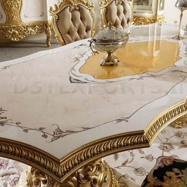 LUXURY BAROQUE STYLE DINING TABLE