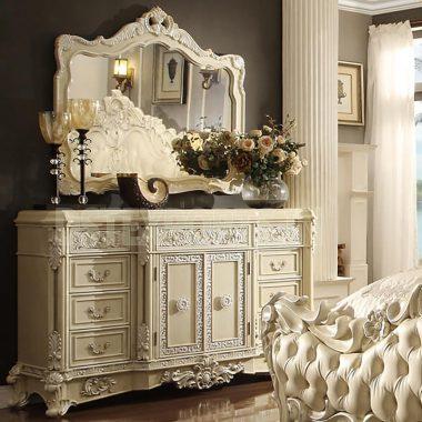 Luxury European Hand Carved Dresser