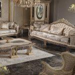 hand-crafted sofa set