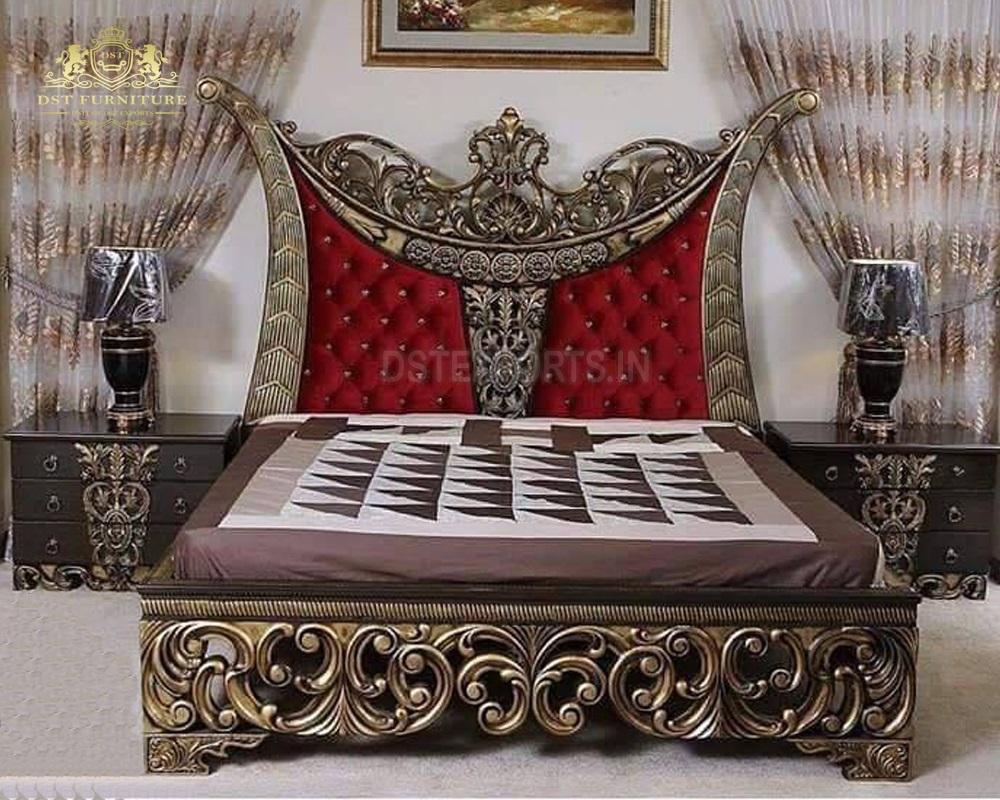 Antique Royal European Style Bedroom Furniture