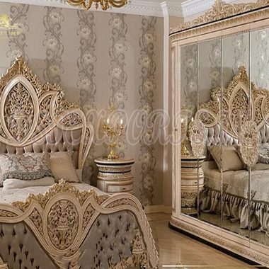 Royal Style French Bedroom Furniture Set