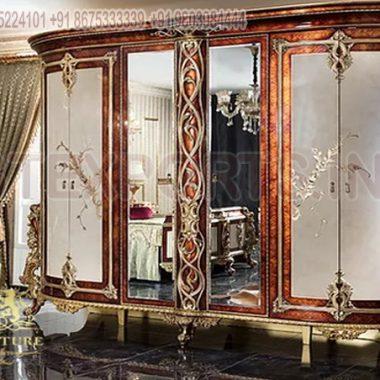 Golden Bedroom Wardrobe