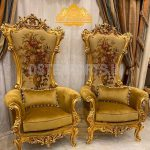 Classy Hand Carved Luxury Lounge Chairs