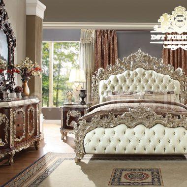 European Eastern King Size Bedroom Furniture