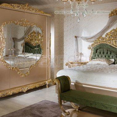 Buy Handmade Wooden Luxury Bedroom Furniture Set