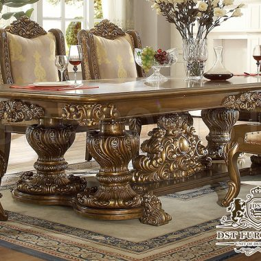 HAND CARVING DINING 29