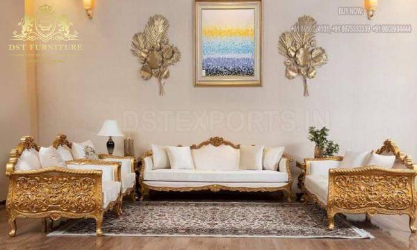 Best Quality Handmade Living Room Sofa Set