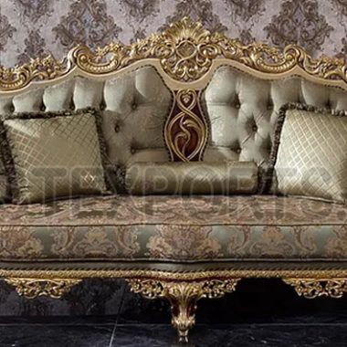 LUXURY WOODEN CRAFTED SOFA