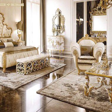 Lavish Luxury European Style Bedroom Furniture