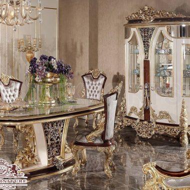 Luxurious Italian Style Dining Room Furniture