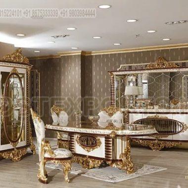Luxury Baroque Style Dining Room Furniture Design