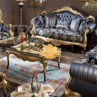 New Classic Hand Carved Living Room Sofa Set