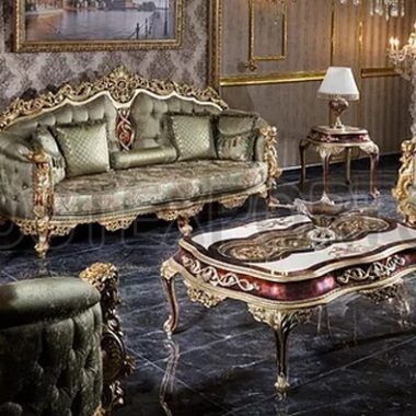 Royal Luxurious Carving Living Room Furniture