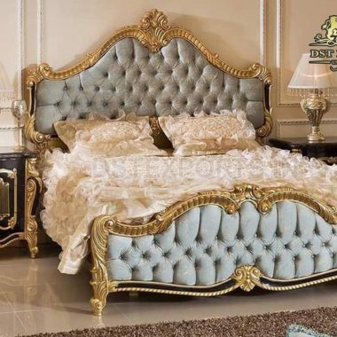 Royal Princess Teak Wood Bedroom Furniture Set
