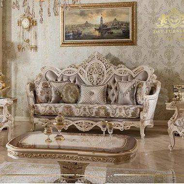 Royal Style French Living Room Sofa Set