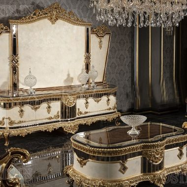 Classic Baroque Style Luxury Tv Stands