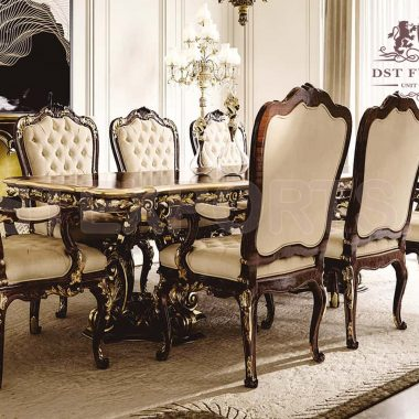 Contemporary Dining Room Furniture in Teak Wood