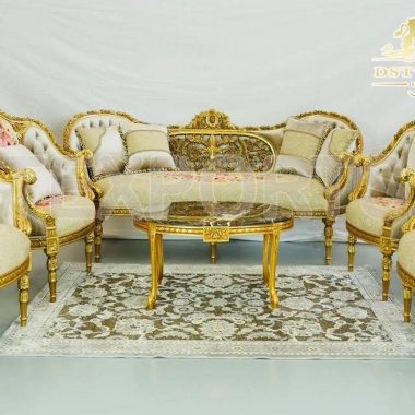 Italian Style Luxury Collection Living Room Furniture