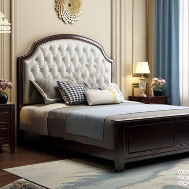 Modern American Style Bed & Bedroom Furniture