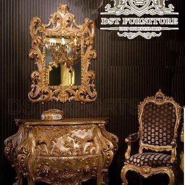 Royal Carving Dressing Table Furniture Set
