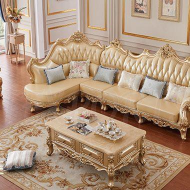 L Shape Sofa Set for Sale