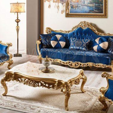 Wooden Carved Sofa Set For Sale