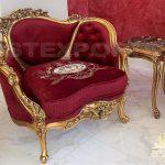 hand made single seater sofa