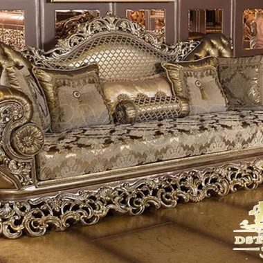 Fully hand carved sofa