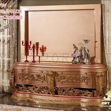 Best Luxury Carved TV Cabinet For Home