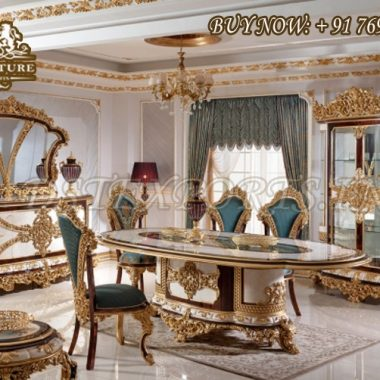 Classical Luxury Dining Room Furniture Set