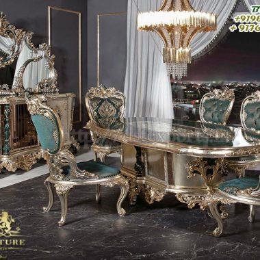 European Design Hand Carved Dining Room Furniture