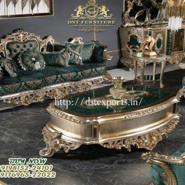 European Design Hand Carved Living Room Furniture