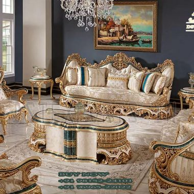 French Style Sofa Set For Living Room Furniture