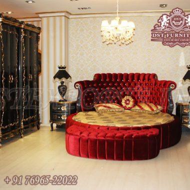 Luxury New Style Round Bedroom Furniture