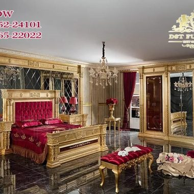 Royal Mansion Style Bedroom Furniture Set