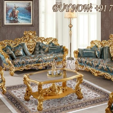 Ultra Luxury Carved Living Room Furniture Set