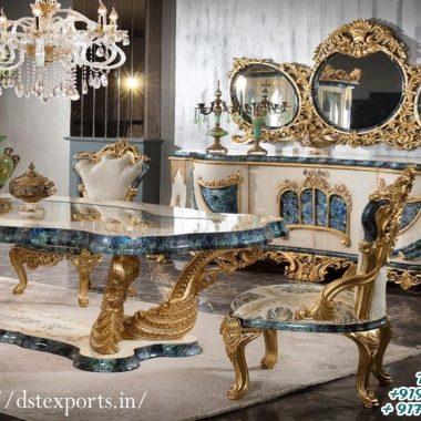 Unique Majestic Look Dining Room Furniture Set