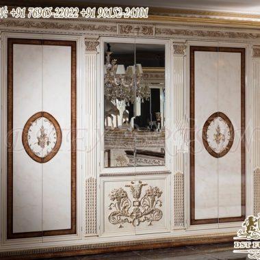 Vintage Style Luxury Wooden Wardrobe Designs