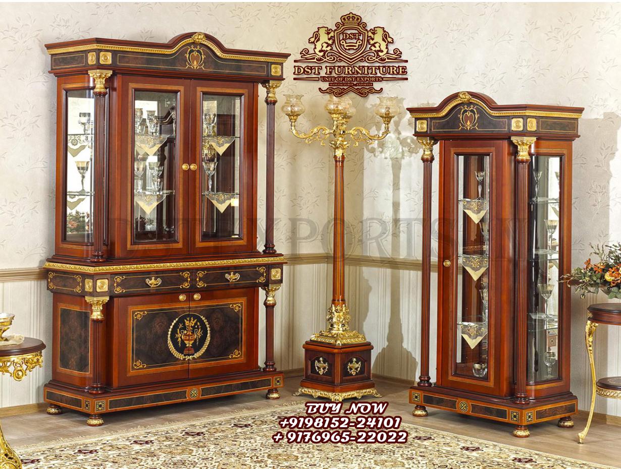 walnut console mirror