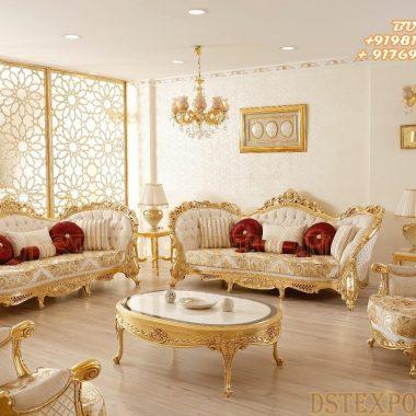 Classic Italian Design Wooden Living Room Furniture