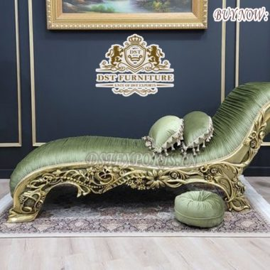Deluxe Style Queen Chaise Lounge For Home Decor