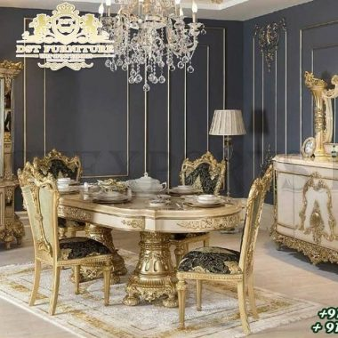 French Style Princess Dining Room Furniture Collection