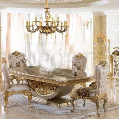 High End Classic Dining Room Furniture
