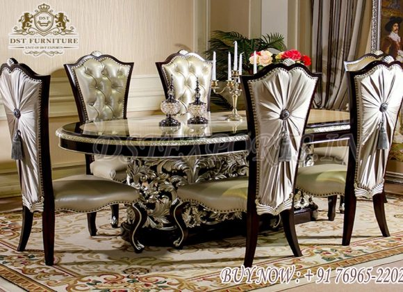 Imperial Hand Carved European Dining Room Table