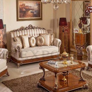 Luxury Palace Style Maharaja Living Room Furniture Set