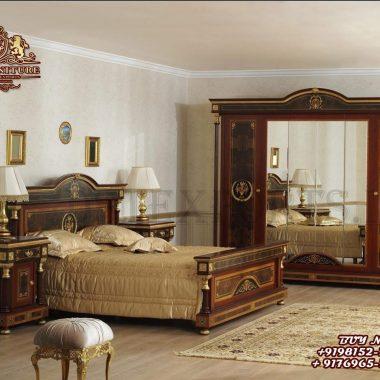 Neo Classic Style Luxury Bedroom Furniture Set