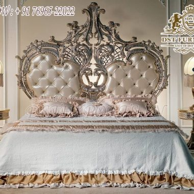 Queen Size Princess Wooden Bed For Home